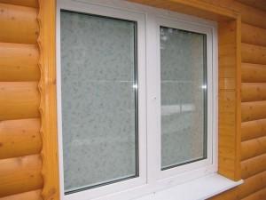 Пластиковое окно для парильни