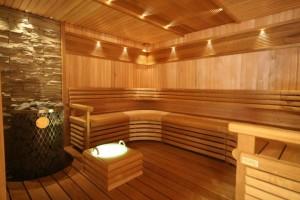Готовое напольное покрытие в бане
