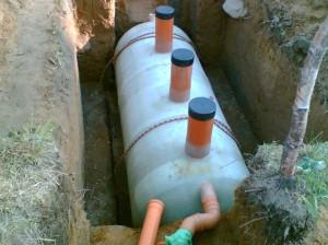 Септик для обустройства канализации