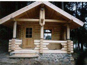 Уютная деревенская баня