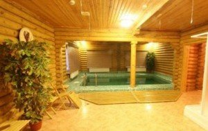 Парильня с внутренним бассейном