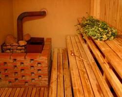 Каменка для бани на дровах
