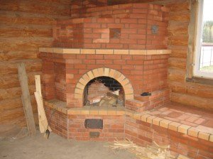 Дровяная печь для бани из кирпича: преимущества традиционного выбора