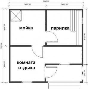 Схема парильни №1