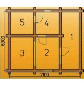 Схема парильни №7