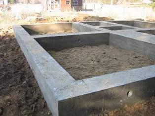 Ленточная банная основа