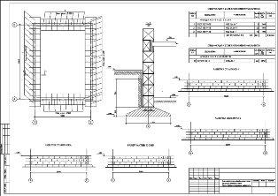 Строительный проект фундамента бани