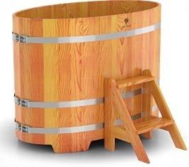 Деревянный банный мини-бассейн