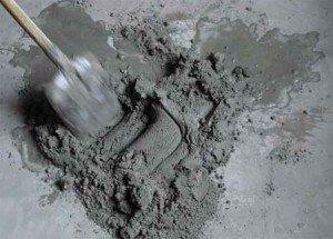 Цементный печной раствор