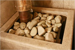 Традиционная банная каменка