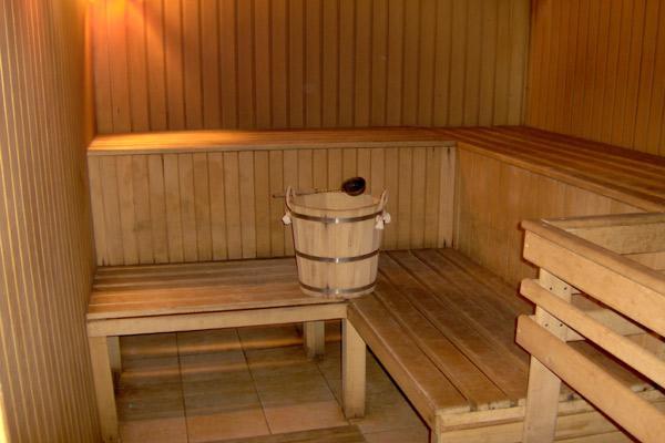 Уютная подвальная сауна