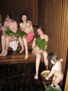 Кожа после бани свежеет