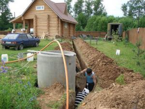 Водопровод в бане своими руками