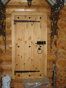 Входные двери в парильню