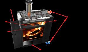 Печь для бани жара