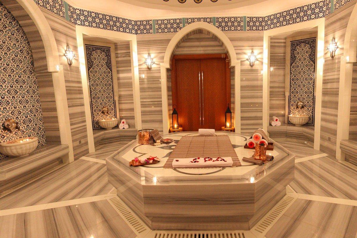 Красивая турецкая баня