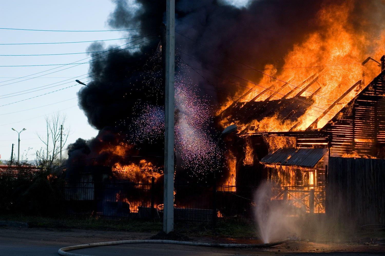 Опасность возникновения пожара