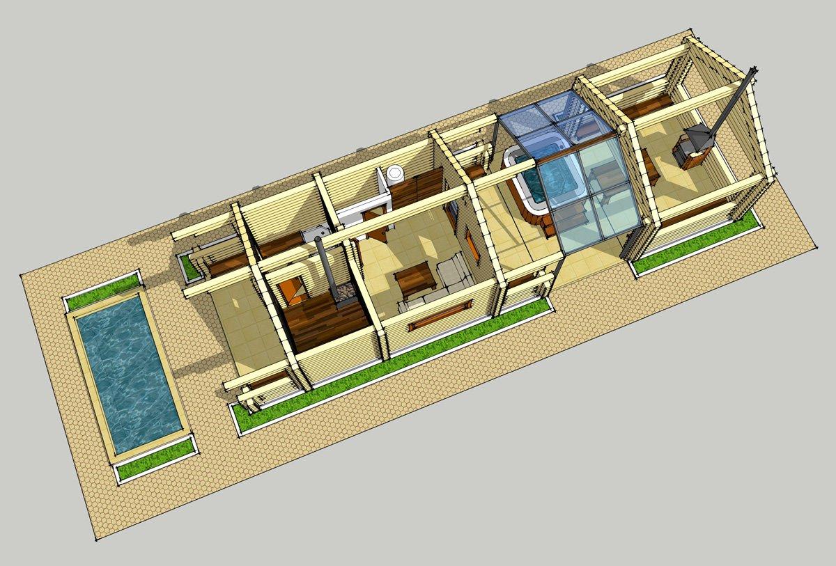 ЗД модель строения