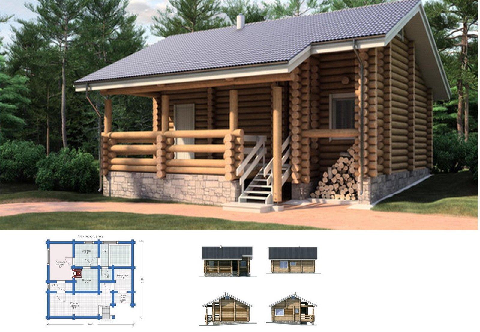 Модель и чертежи строения